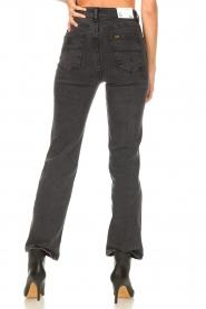 Lois Jeans | High waist straight leg ankle jeans River | zwart  | Afbeelding 7