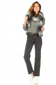 Lois Jeans | High waist straight leg ankle jeans River | zwart  | Afbeelding 2