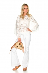 Hipanema |  Lace top Ivy | white  | Picture 3