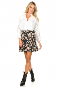 Second Female |  Blouse with open collar Addison | white  | Picture 3