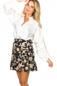 Second Female |  Blouse with open collar Addison | white  | Picture 4