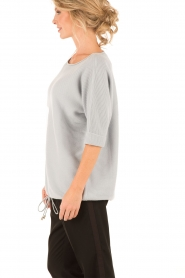 Cashmere sweater Yvette | light blue