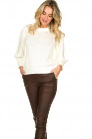 Second Female |  Sweater Mynte | naturel  | Picture 4