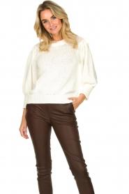 Second Female |  Sweater Mynte | naturel  | Picture 2