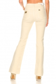 Lois Jeans |  L32 High waist flared jeans Raval | beige  | Picture 7