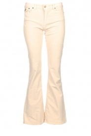 Lois Jeans |  L34 High waist flared jeans Raval | beige  | Picture 1