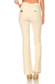 Lois Jeans |  L34 High waist flared jeans Raval | beige  | Picture 7