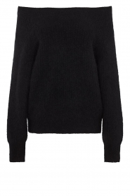 Second Female |  Knitted sweater Galis | black  | Picture 1