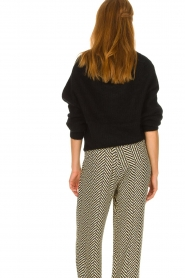 Second Female |  Knitted sweater Galis | black  | Picture 5