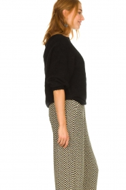 Second Female |  Knitted sweater Galis | black  | Picture 4