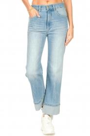 Lois Jeans |  Straight fit jeans River | light blue  | Picture 4