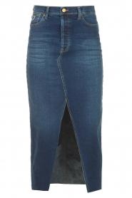Lois Jeans    Blauw   cotton denim skirt midi Salma    Picture 1