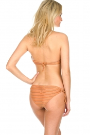 Hipanema |  Bandeau bikini with lurex Swimmy | rust orange  | Picture 4