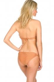 Hipanema | Bandeau bikini met lurex Swimmy | roestoranje  | Afbeelding 4