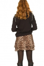 Second Female |   Leopard print skirt Cello | brown   | Picture 6