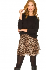 Second Female |   Leopard print skirt Cello | brown   | Picture 2
