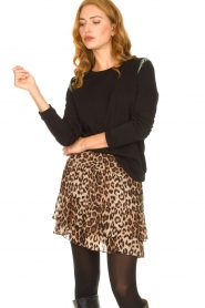 Second Female |   Leopard print skirt Cello | brown   | Picture 4