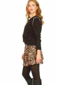 Second Female |   Leopard print skirt Cello | brown   | Picture 5