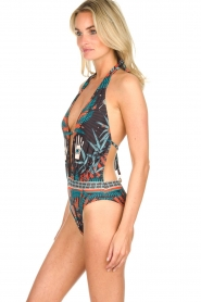 Hipanema |  Printed swimsuit Tequilla | black  | Picture 3