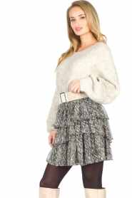 Sofie Schnoor    Skirt with print Lica   black    Picture 4