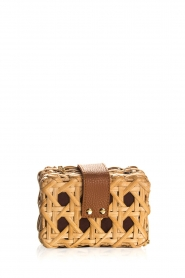 Hipanema |  Rattan shoulder bag Corte | natural  | Picture 4