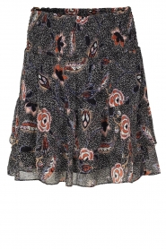 Second Female |  Floral skirt Geo | black  | Picture 1