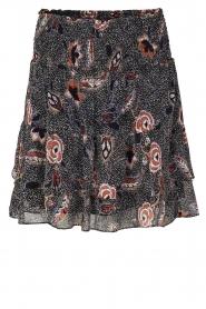 Second Female |  zwart | Printed skirt Geo   | Picture 1