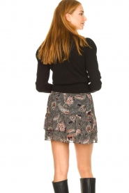 Second Female |  Floral skirt Geo | black  | Picture 5
