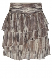 Sofie Schnoor |  Skirt with lurex Sharella | natural  | Picture 1