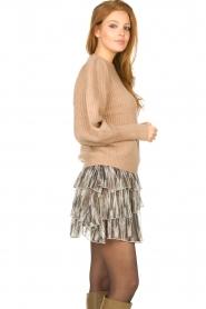 Sofie Schnoor |  Skirt with lurex Sharella | natural  | Picture 6