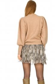 Sofie Schnoor |  Skirt with lurex Sharella | natural  | Picture 7