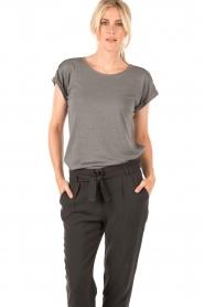 Dante 6 | T-shirt Milly | grijs   | Afbeelding 2