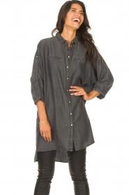 Sofie Schnoor    Denim tunic dress Everlyn   black    Picture 4