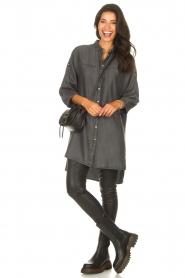 Sofie Schnoor    Denim tunic dress Everlyn   black    Picture 3