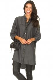 Sofie Schnoor    Denim tunic dress Everlyn   black    Picture 2