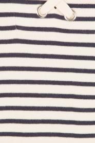 Set | Lace-up sweaterjurk Gigi | donkerblauw/wit  | Afbeelding 6