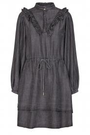 Sofie Schnoor |  Denim dress Coral | grey  | Picture 1