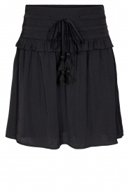 Sofie Schnoor |  Dress with drawstrings Laya | black  | Picture 1