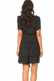 Sofie Schnoor |  Dress with drawstrings Lilly | black  | Picture 7
