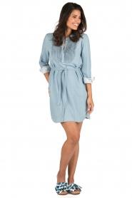 Set | Denim jurk Bridget | blauw  | Afbeelding 3
