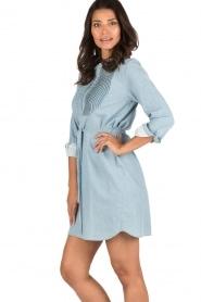 Set | Denim jurk Bridget | blauw  | Afbeelding 4
