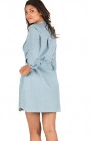 Set | Denim jurk Bridget | blauw  | Afbeelding 5