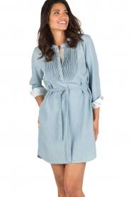 Set | Denim jurk Bridget | blauw  | Afbeelding 2