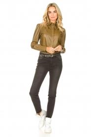 Sofie Schnoor    High waist stretch jeans Julia   black    Picture 3