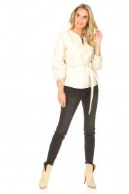 Sofie Schnoor    High waist stretch jeans Julia   black    Picture 5
