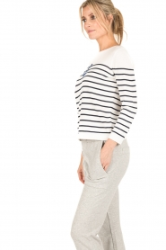 Set |  Knitted sweater Marit | white/blue  | Picture 4