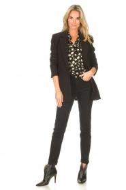 Sofie Schnoor |  Skinny jeans Reese | black  | Picture 2