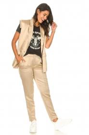 Sofie Schnoor | Cigarette pantalon Nola | camel  | Afbeelding 2