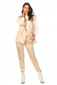 Sofie Schnoor | Cigarette pantalon Nola | camel  | Afbeelding 3