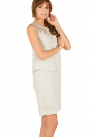 Dress Vera | cement grey